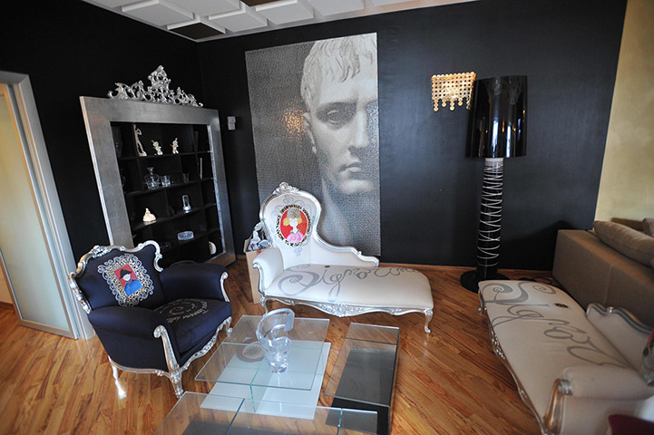 interior design, mafia style